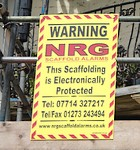 scaffold alarms brighton eastbourne worthing sussex